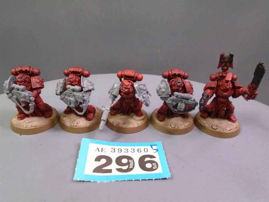 Space Marines Sternguard Vets Veterans Squad 296