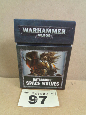 8th Edition Datacards Space  Wolves Wolf 97