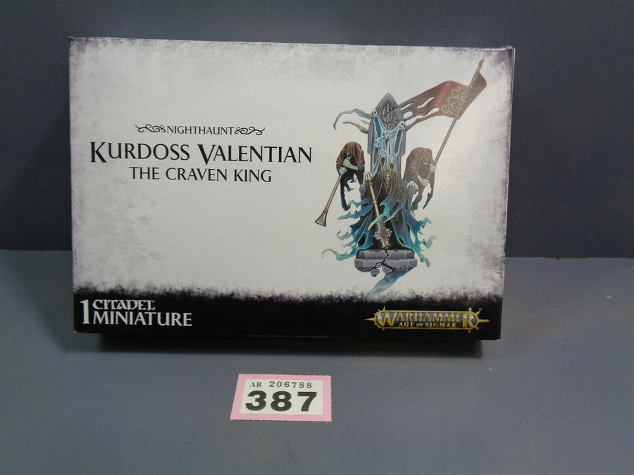 Kurdoss Valentian The Craven King BNIB