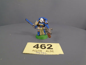 Space Marines Metal Vet veteran Sergeant 462