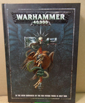 Warhammer 40,000 8th Edition Rulebook Pre-Owned