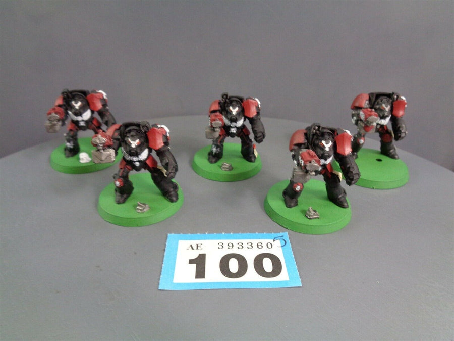 Space Marines Terminators Squad 100