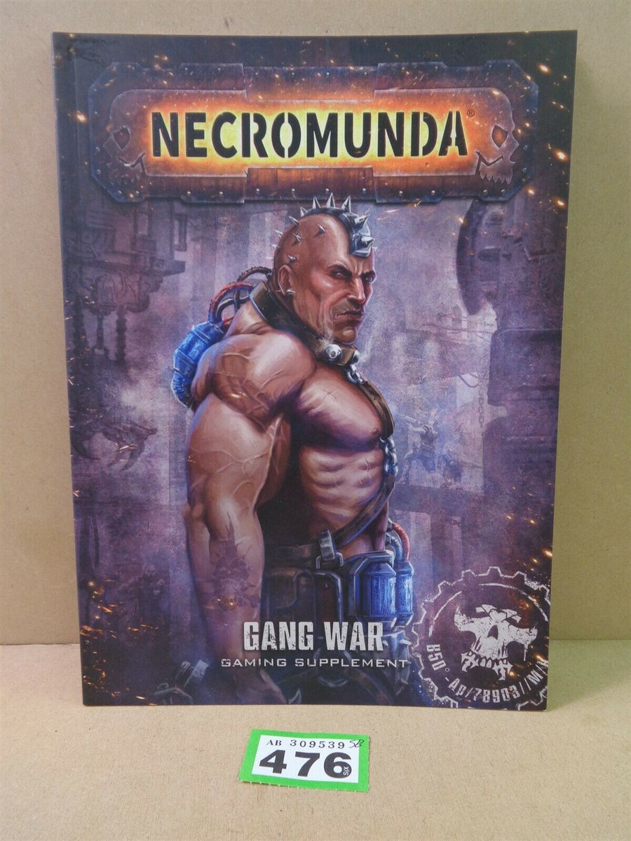 Soft Cover Gang War Gaming Supplement 476