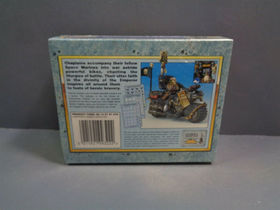 Space Marines Chaplain on bike BNIB 288