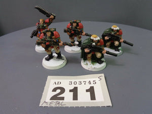Blood Angels Metal Scouts Squad Sniper Rifles