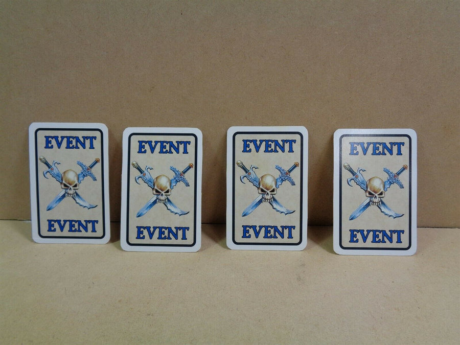 Games Workshop Warhammer Quest White Dwarf 193 Expansion cards 836