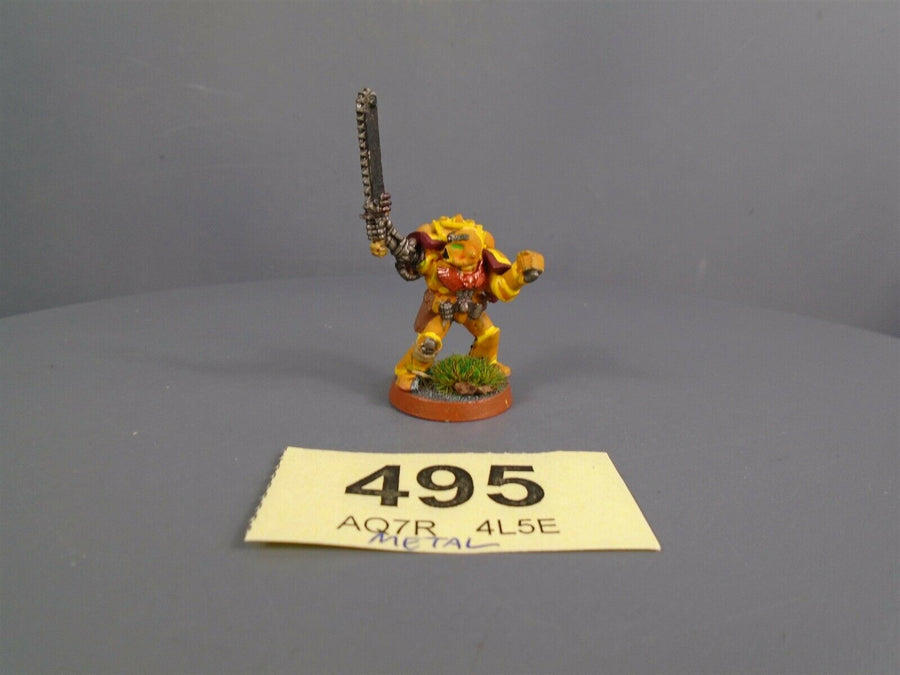Imperial Fists Metal Comamnder Camptain