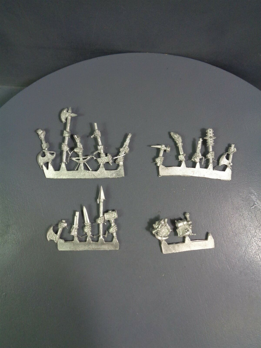 Games Workshop Mordheim Dwarf Treasure Hunters Weapon Sprues 506