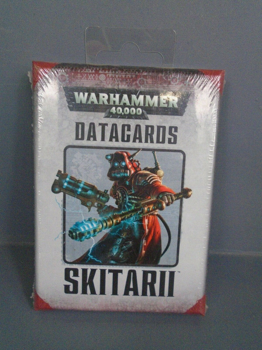 Sealed Adeptus Mechanicus Skitarii 7th Edition Datacards