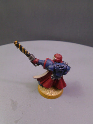 Crimson Fists Metal Captain