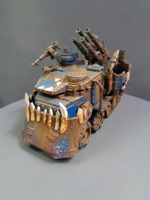 Battlewagon with Forge World Flakk Gun 6