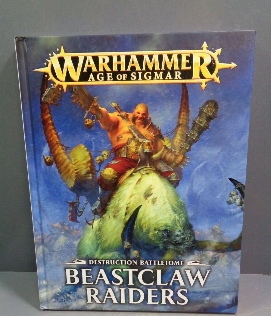 Beastclaw Raiders AOS Battletome