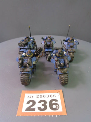 Space Marines Scout Bikes Bikers Squad 236