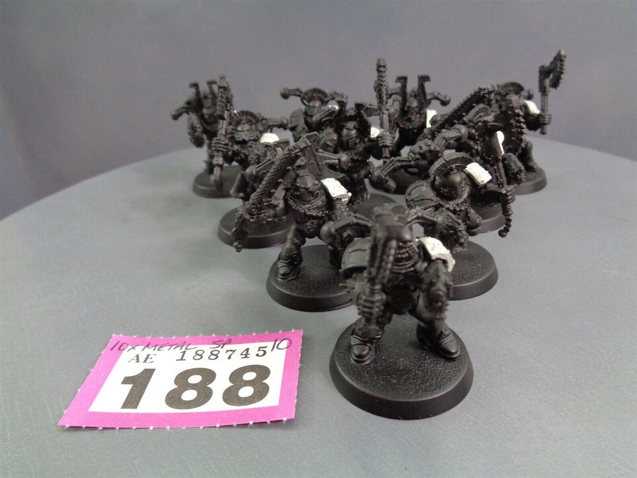 Khorne Berzerkers with Metal Pads 188