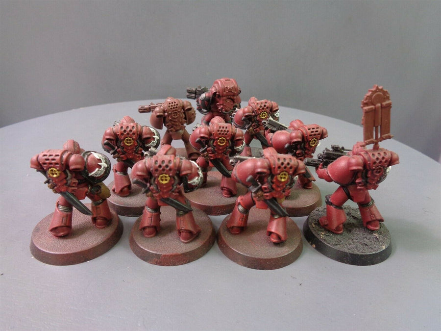 30K Forge World Pads Blood Angels Tactical Squad