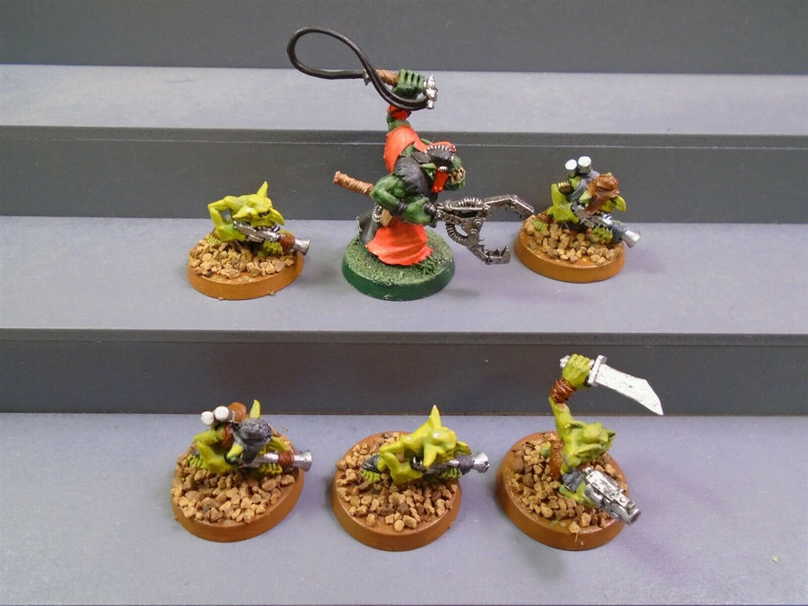 Slaver / Runtherd with Grots Gretchin 308