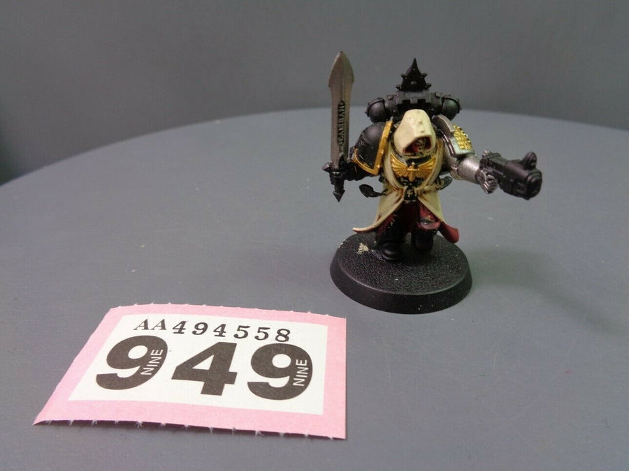 Deathwatch Commander Dark Angels Zameon Gydrael