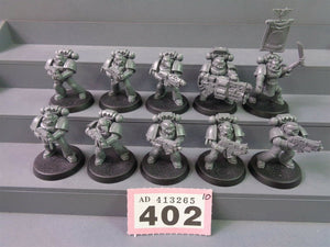 Space Marines Tactical Squad 402
