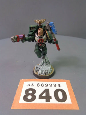Dark Angels Force Commander Vet Sergeant Jump Pack
