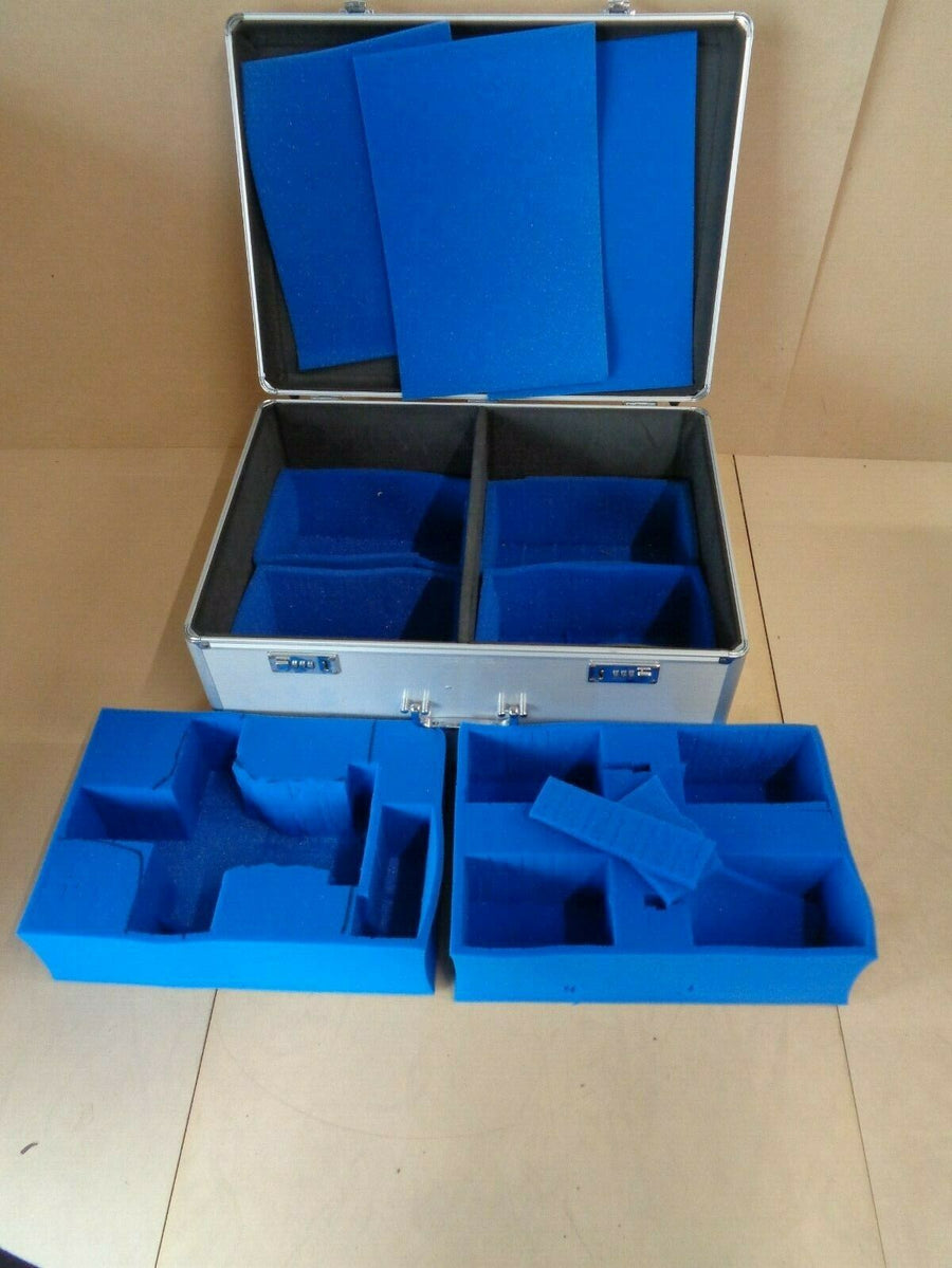 KR Multicase Aluminium Miniatures Case with Foam trays 515
