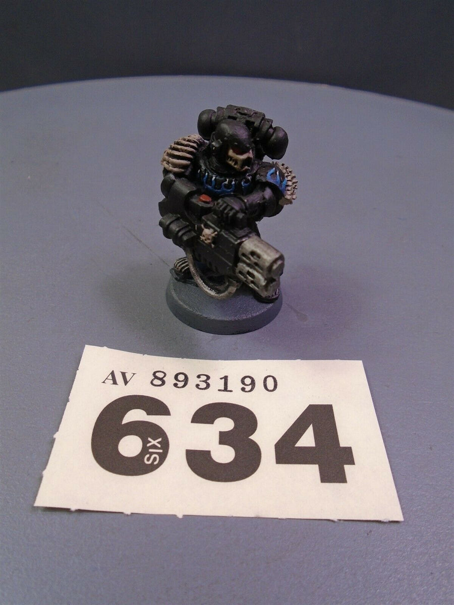 Space Marines Legion of the Damned Legionnaire Multi Melta 634
