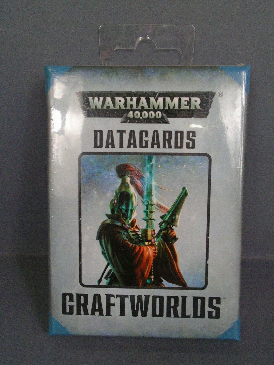 Sealed Eldar Craftworlds 7th Edition Datacards