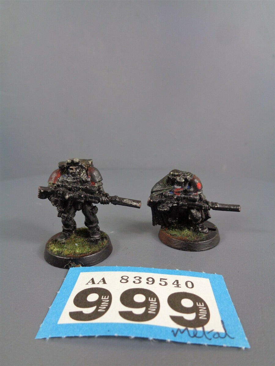 Space Marines Metal Scouts Sniper Rifles 999