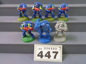 Space Marines Combat Tactical Squad 447