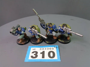 Space Marines Scouts Sniper Rifles and Missile Launcher 310