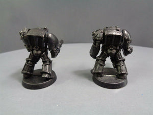 Space Marines Metal Terminator Assault Cannon Flamer 859