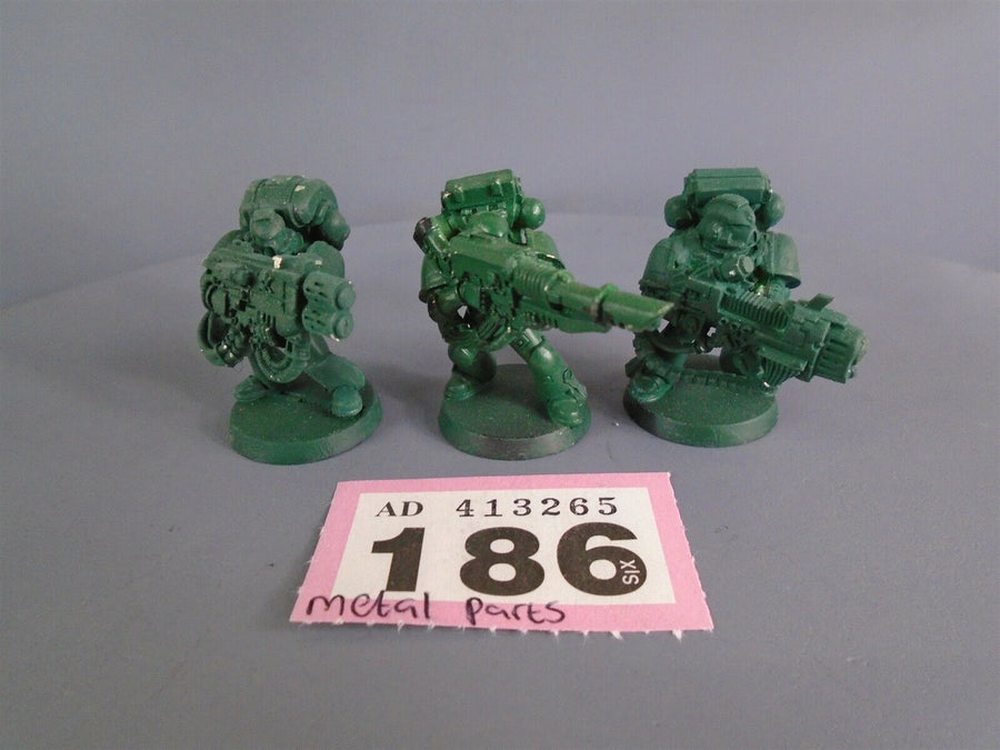 Space Marines Metal Devastators Heavy Weapons 186