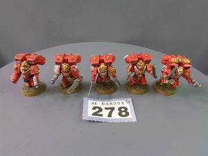 Blood Angels Vanguard Honour guard Vets