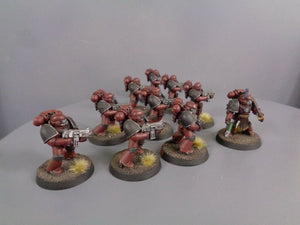 30,000 Space Marines Word Bearers Legion Mark IV Tactical Squad 167
