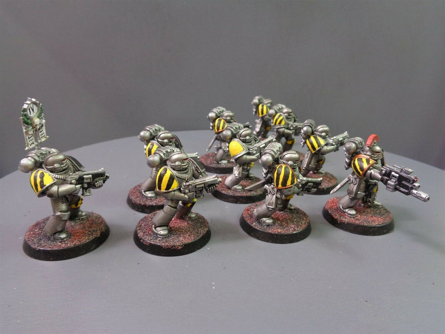 30,000 Space Marines Iron Warriors Mark IV Tactical Squad 634