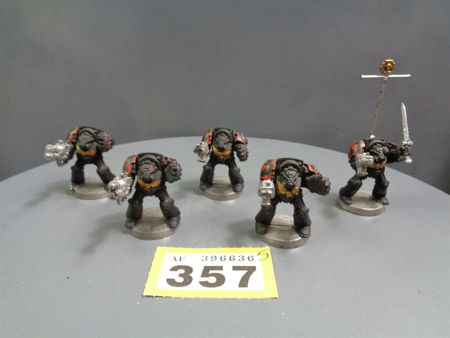 Space Marines Terminators Squad 357