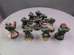 Dark Angels Tactical Squad with Vet Sergeant