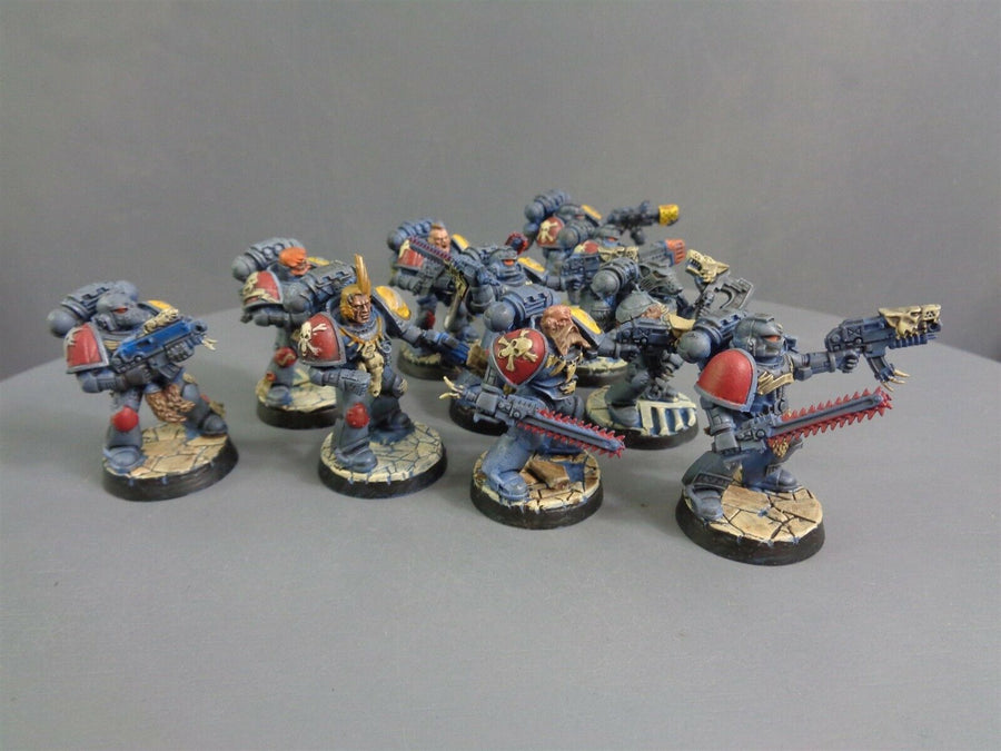 Space  Wolves Wolf Grey Hunters Pack Squad 479