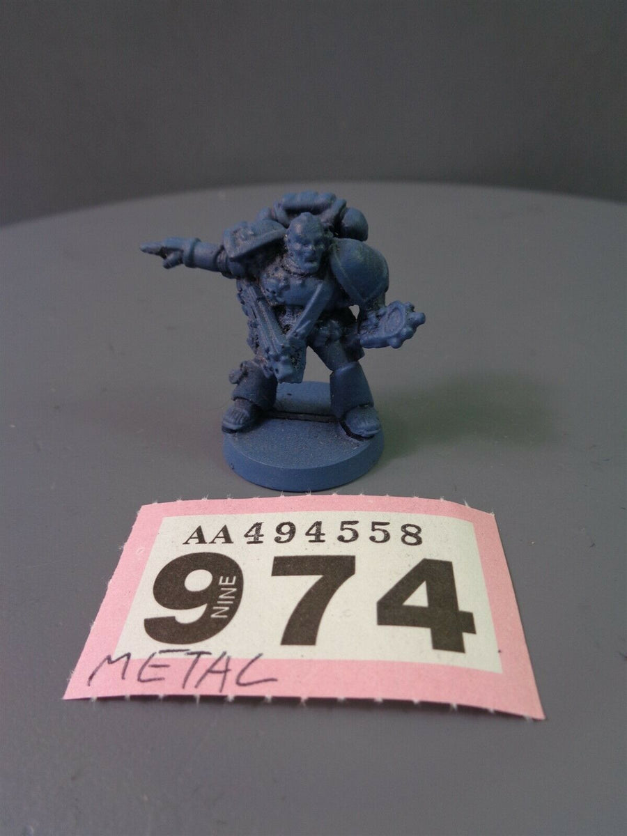 Space Marines Metal Vet Sergeant 974