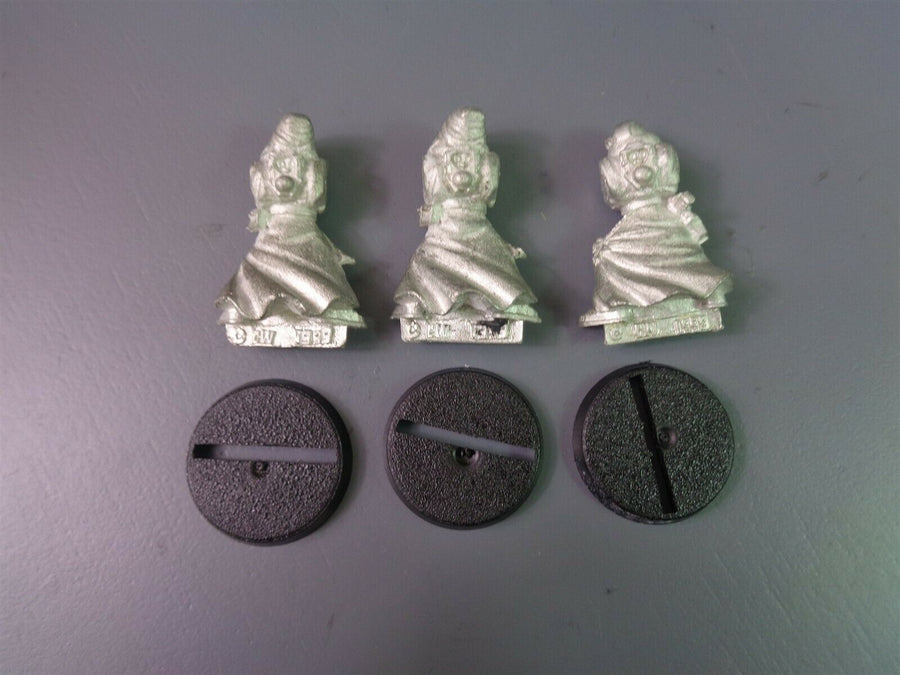 Space Marines Dark Angel Metal Robed Vets 392
