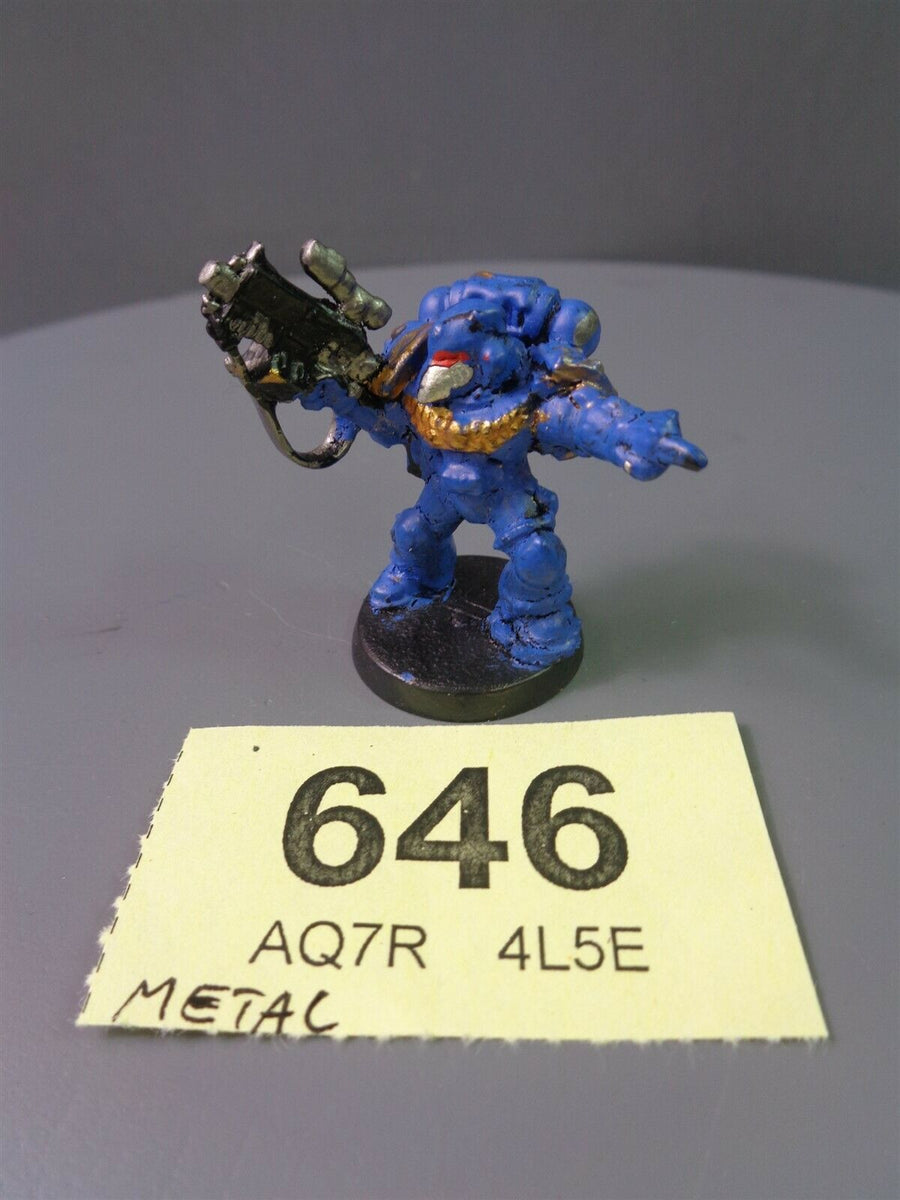 Space Marines Metal Vet Veteran Sergeant 646
