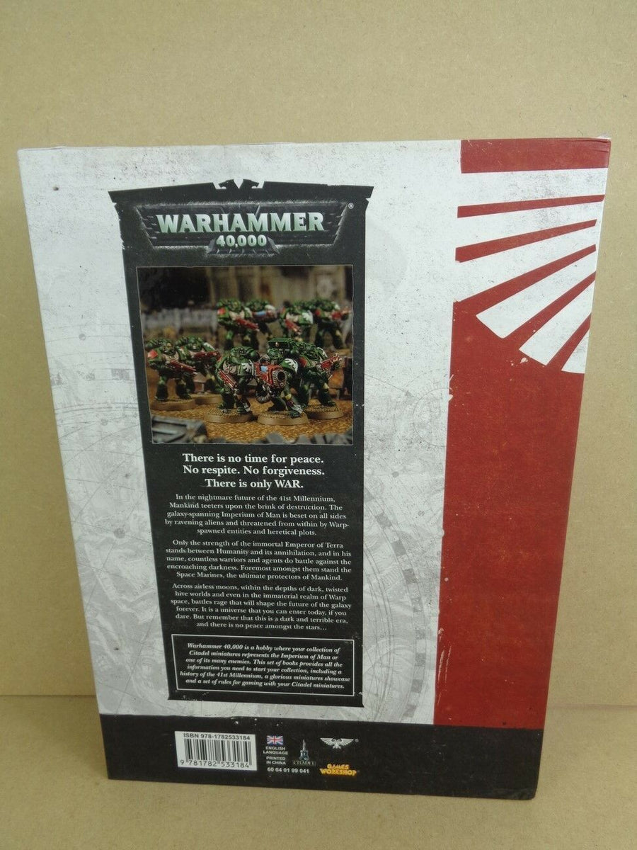 Warhammer 40k Collector's Rules Rulebook Set of 3 Books Hard Cover 508