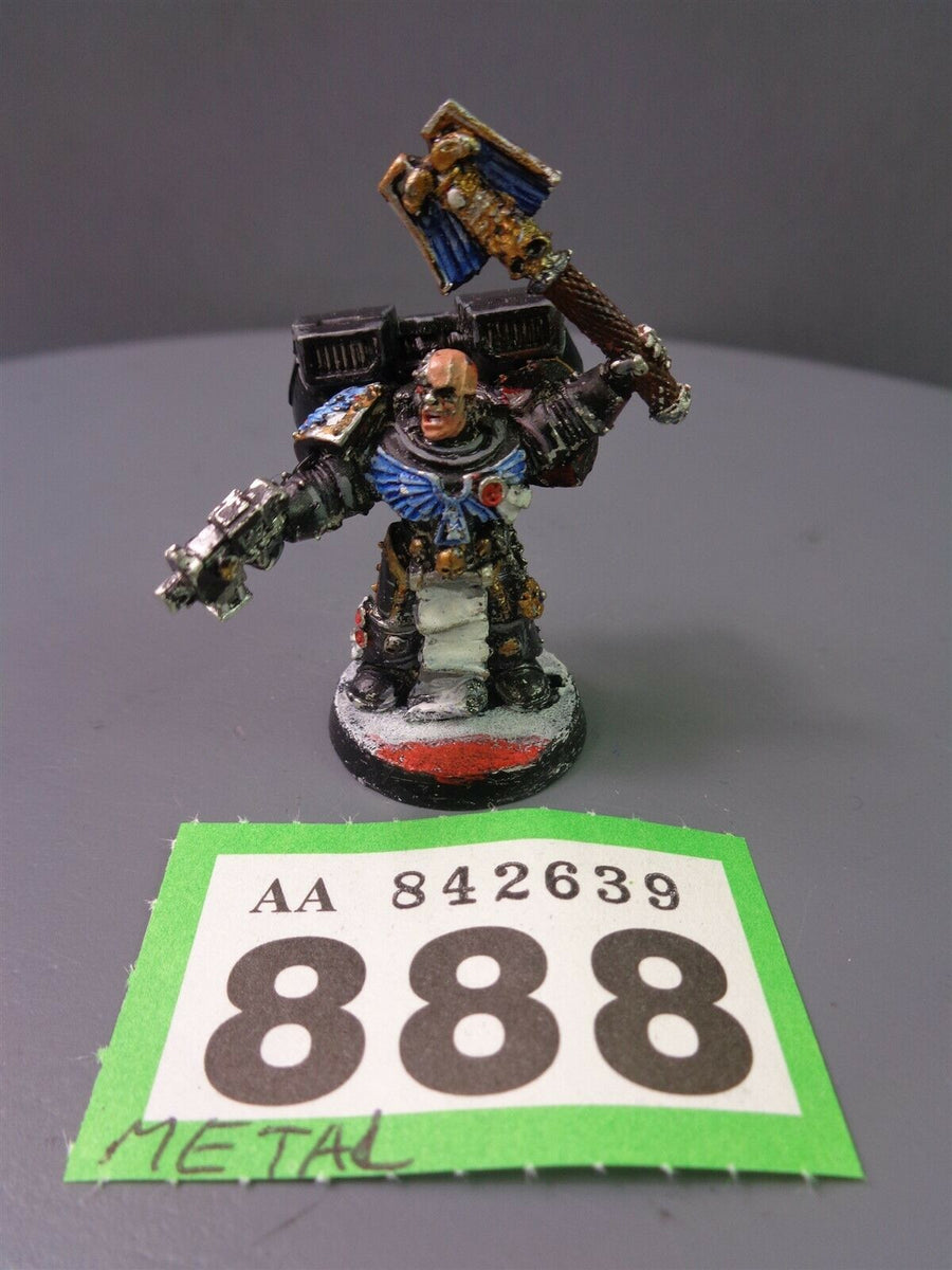 Space Marines Metal chaplain 888