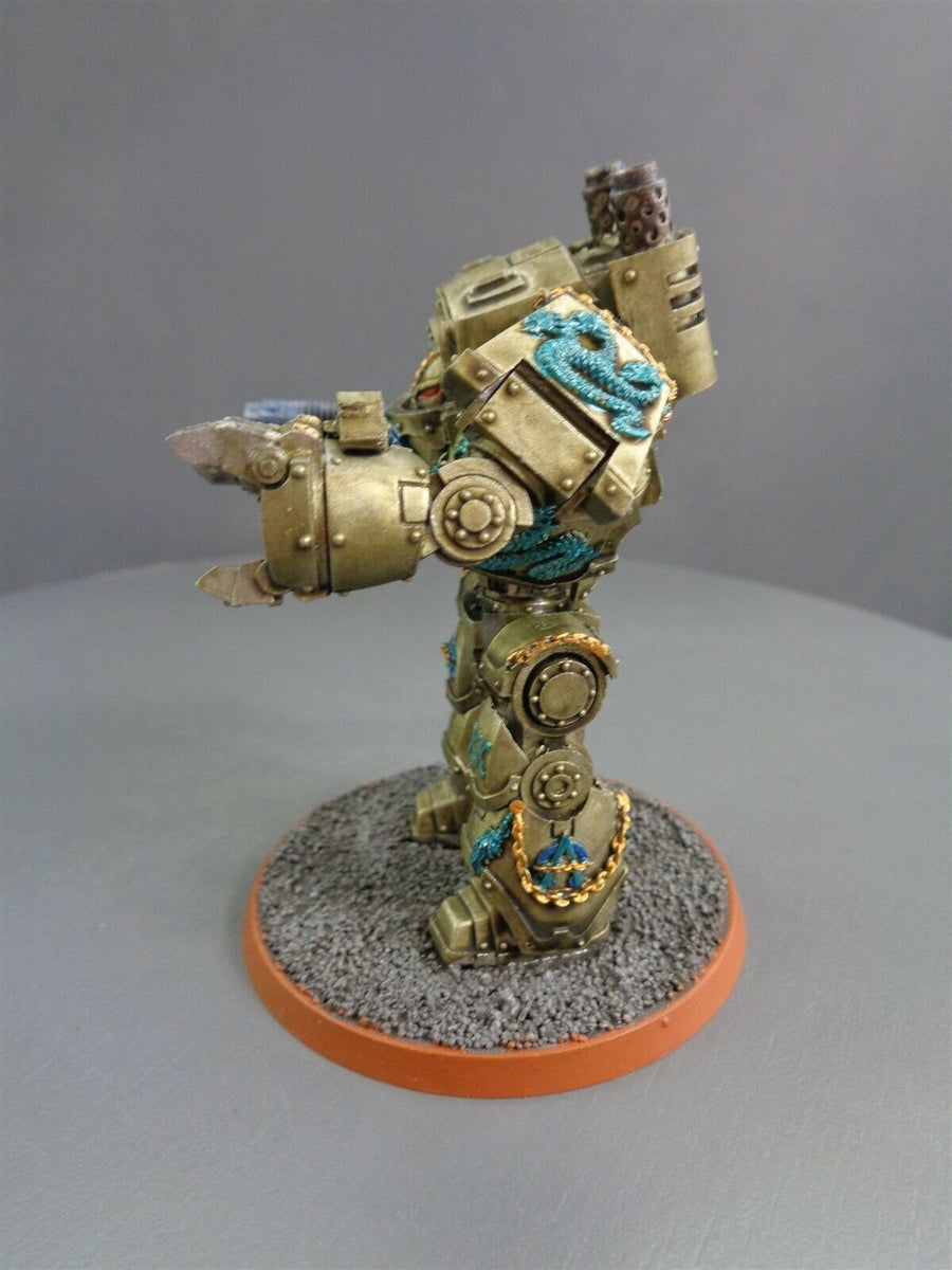 Space Marines Forge World Alpha Legion Contemptor Dreadnought 47