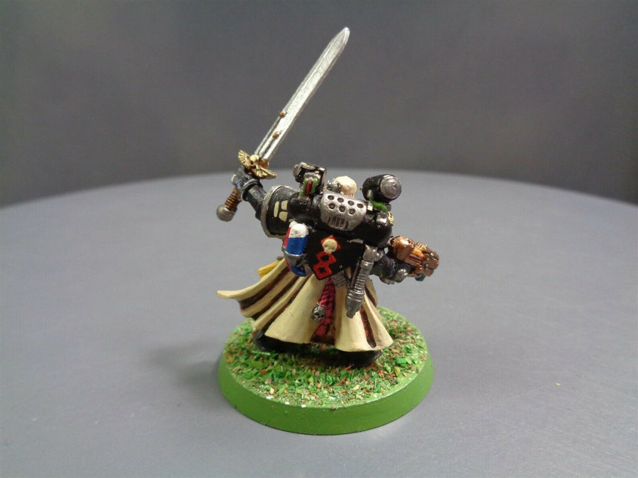Black Templars Army Box Captain Conversion