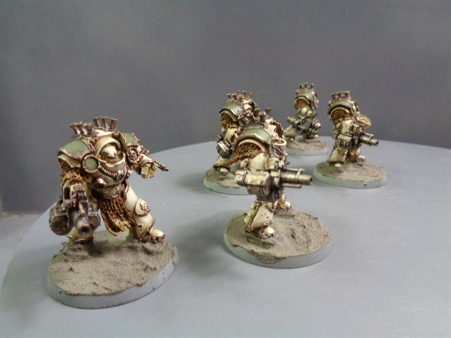 Space Marines Forge World Death Guard Grave Warden Terminators 167