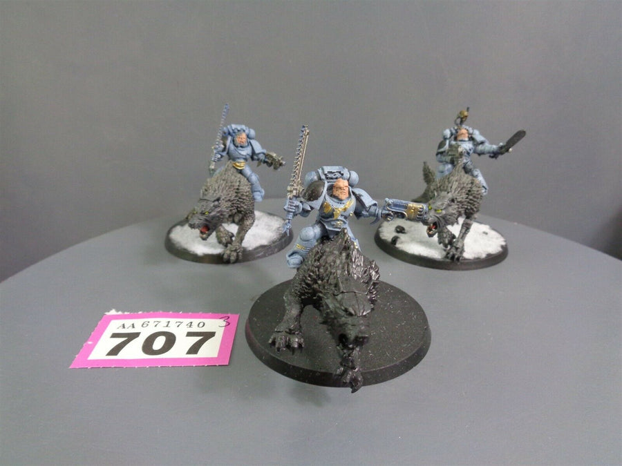 Space  Wolves Wolf Thunderwolf Cavalry 707