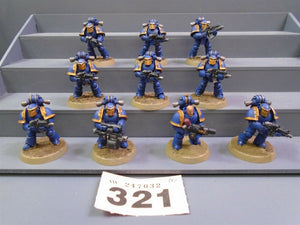 30,000 Space Marines Mark III Legion Tactical Squad 321