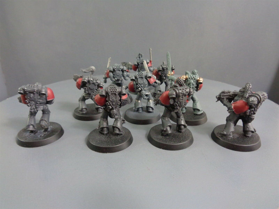 Space  Wolves Wolf Grey Hunters Pack 332