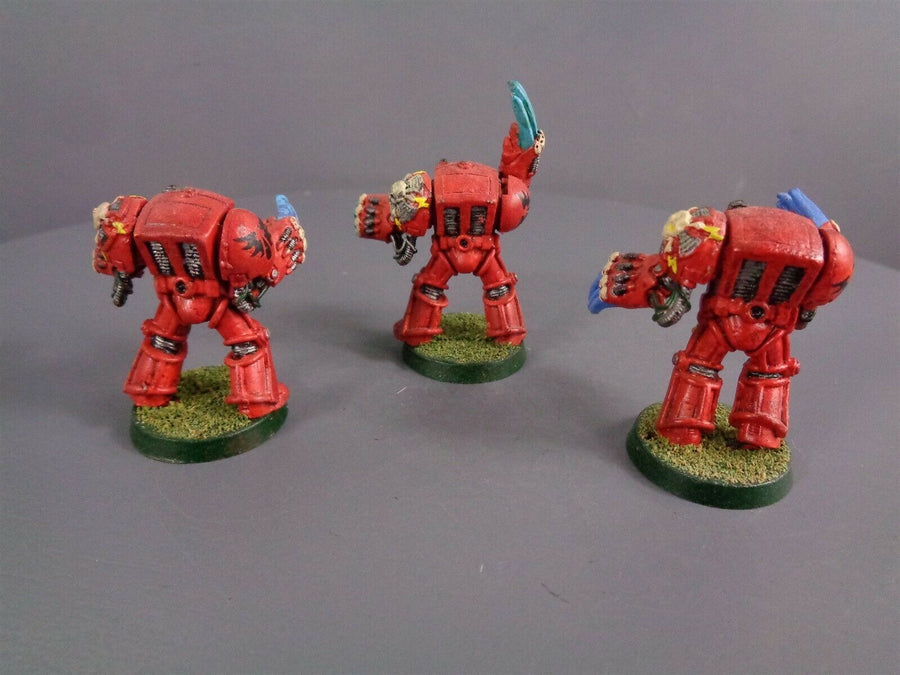 Space Marines Rogue Trader Lightning Claw Assault Terminators 777