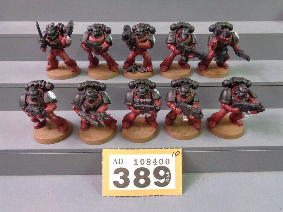 Space Marines Flesh Tearers Tactical Squad 389